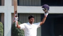 Sharath slams ton on Ranji debut