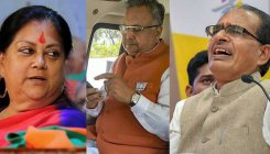 Cong plays tough for BJP CMs in poll-bound states