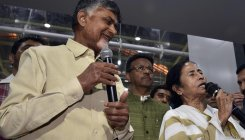 Naidu, Mamata assert oppn is united against BJP