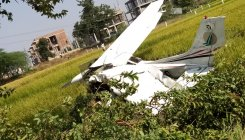 Training aircraft crashes near Hyderabad