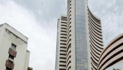 Sensex rises over 100 pts on firm rupee