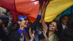 Queer pride parade march held in Delhi