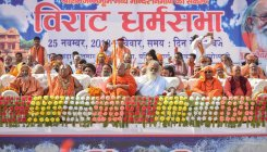 Dharm sabha to BJP: Build temple or get dumped