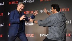 Hollywood and Bollywood stars bond over 'Mowgli'