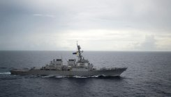 China has stern words with US over ship in SCS
