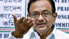 Chidambaram pokes fun at BJP for celebrating GDP data