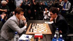 Carlsen, Caruana final goes to tiebreakers
