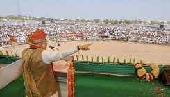 Congress ATM of lies, BJP ATM of development: Shah