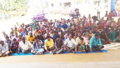 Protest by Dalit Sangarsha Samithi enters fourth day