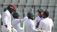 Mehidy spins Bangladesh to first innings win