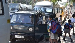 For children en route to school, safety comes last