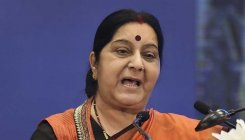 Swaraj holds talks with Icelandic counterpart