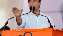 Rahul attacks Modi for comparing him to a 'gramophone'