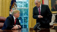 John Kelly to leave White House by year-end: Trump