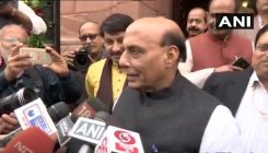 Polls were fought on state govts' performance: Rajnath