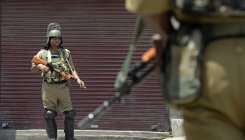 Four cops killed by militants in Kashmir's Shopian