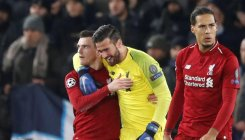 Klopp hails 'lifesaving' Alisson