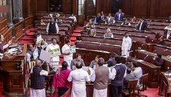 Rajya Sabha adjourned after opposition protests
