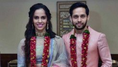 Saina Nehwal ties knot with Parupalli Kashyap