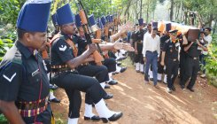 Lt General B C Nanda laid to rest