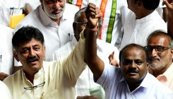 Karnataka bypoll: Congress-JD(S) leads in 4 of 5 seats