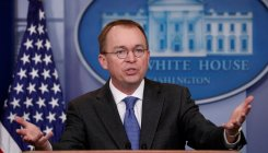 Trump taps budget head as acting chief of staff