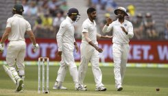 India 172/3 at close against Australia