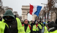 France's 'yellow vest' protesters gather on weekend