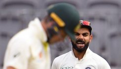 Fiery Kohli spices up a gripping day