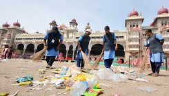 Mysureans appreciate civic workers' cleanliness efforts