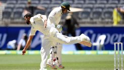 Stumps day 4: India 5 down, trail Aus by 175 runs