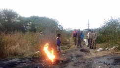 4 arrested for burning cables at Bellandur Lake