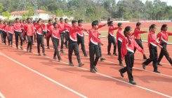 School track and field championship in Gonikoppa