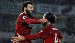 Salah, Van Dijk seal Christmas top spot for Liverpool