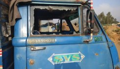 8 garbage vehicles vandalised by miscreants
