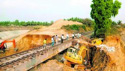 Train services hit due to landslide near Tarikere
