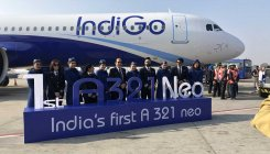 IndiGo gets its first longer range A321neo plane