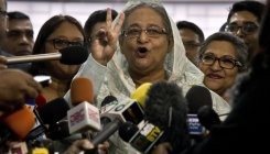 Bangladesh's Hasina wins election by landslide