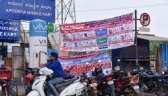 Banners of local politicians reappear despite HC order
