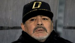 Maradona has internal bleeding