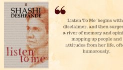 Book Review: 'Listen to Me' by Shashi Deshpande