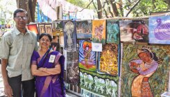 Chitra Sante focused on Gandhi, environment