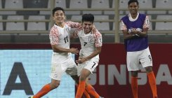 India make roaring start in Asian Cup