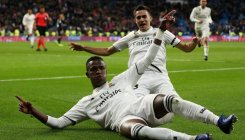 Vinicius inspires Madrid to victory