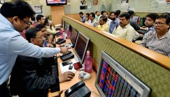 Sensex drops 106 pts on weak global cues