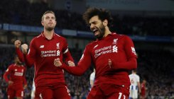 Salah extends Liverpool lead