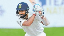 Saurashtra in trouble as Pujara falls