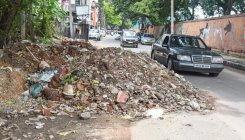 Construction and demolitiondebris piling up in B'luru