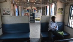 Rs 10 for airport train ride, but no passengers!
