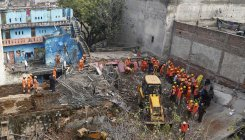 6 killed as four-storey building collapses in Gurgaon